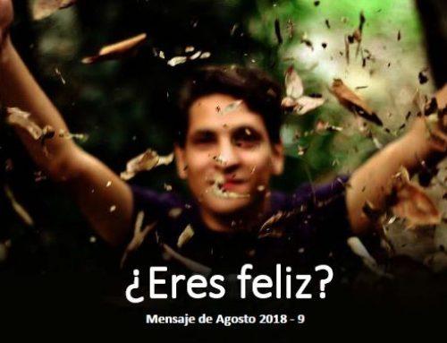 Eres feliz?