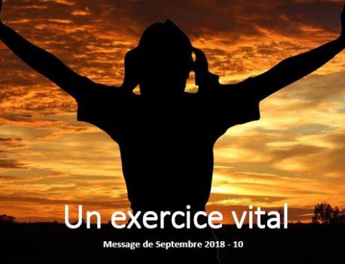 Un exercice vital