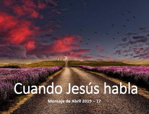 Cuando Jesús habla